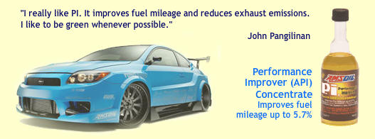 Amsoil Performance improver reduces emissions and improves economy.